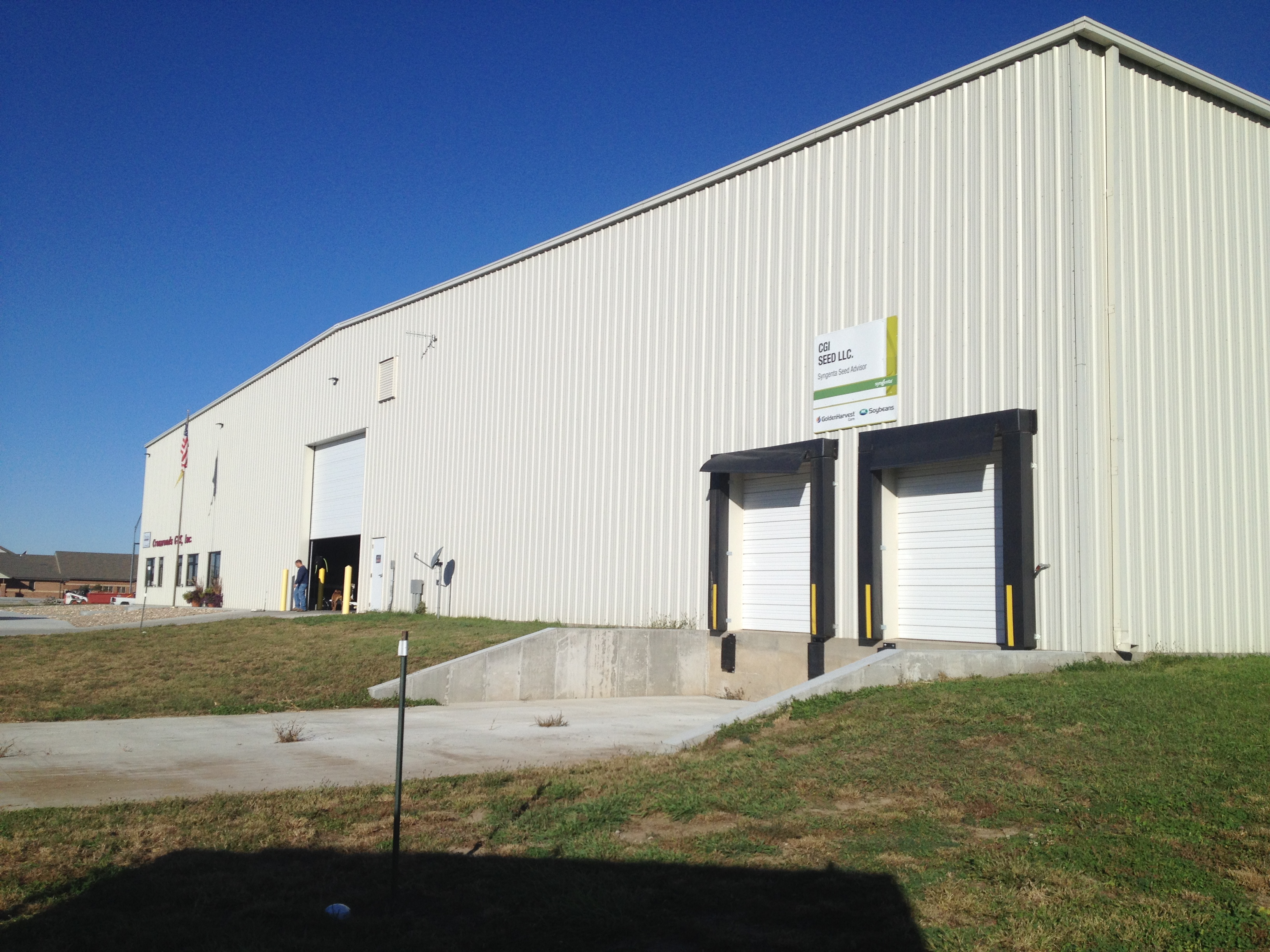 CGI Seed Building